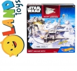 CGN34 HOT WHEELS STAR WARS STARCIE Z AT-AT HOTH ECHO BASE BATTLE