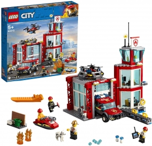 60215 LEGO CITY REMIZA STRAŻACKA