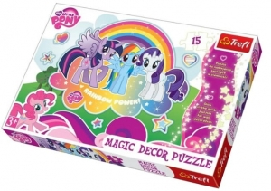 14605 PUZZLE TREFL KUCYKI PONY MY MAGIC DECOR 3+